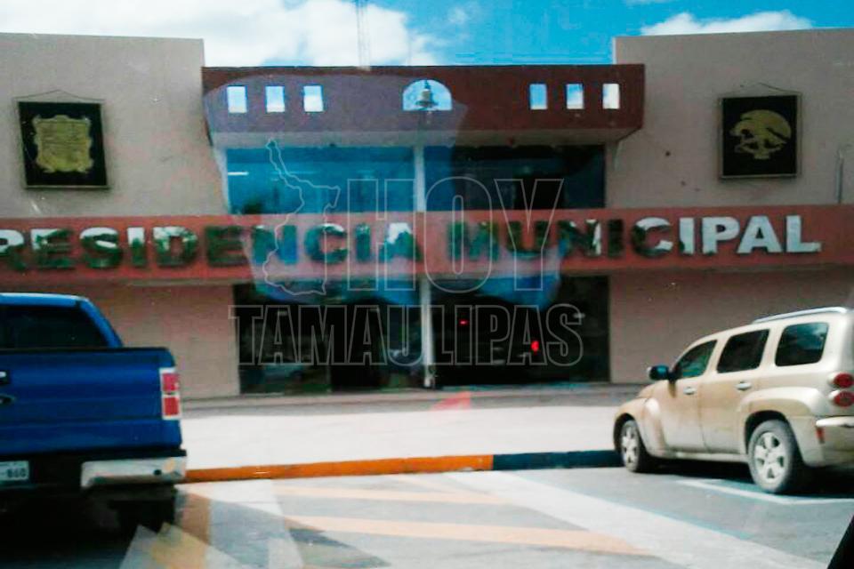 Reportan balacera en presidencia municipal en Río Bravo Tamaulipas