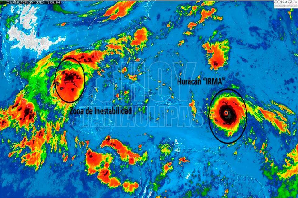 El paso del poderoso huracán Irma por el Caribe — En vivo