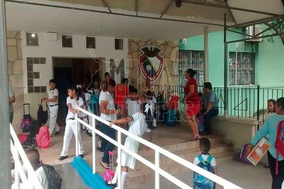 Por robo a escuelas de Tamaulipas Federación adeuda más de 1 mdp