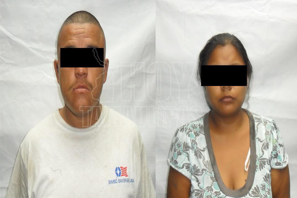 Potosina y su pareja, detenidos en Tamaulipas por matar a su bebé