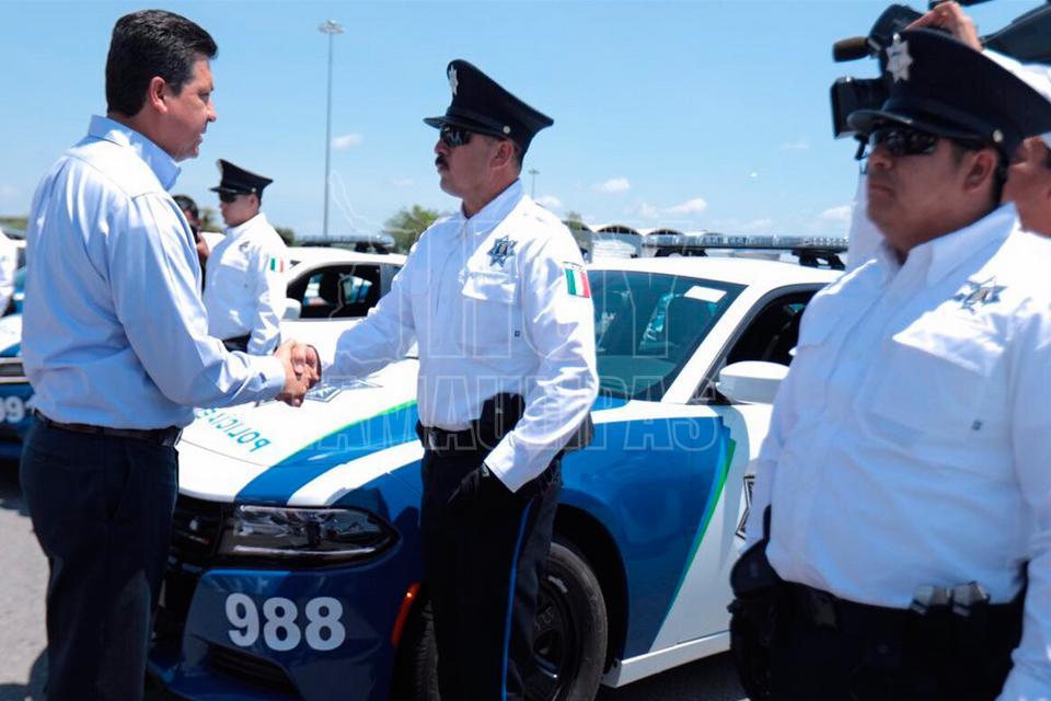 Inicia acciones Policía Estatal de Auxilio en Tamaulipas