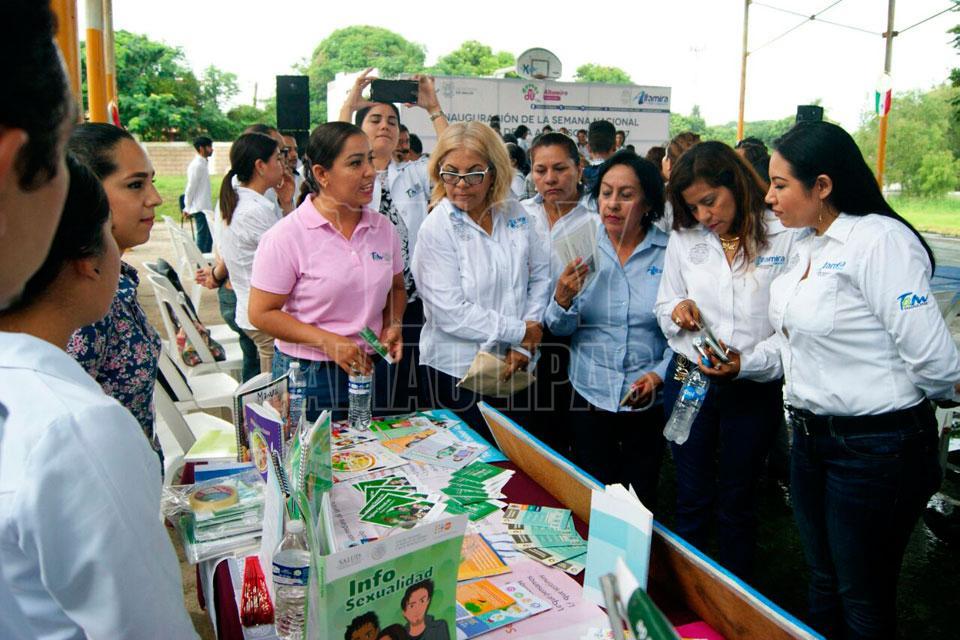Sector salud arranca Semana Nacional del Adolescente