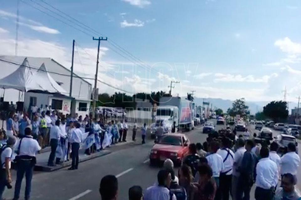 Tamaulipas envía 206 tons. de ayuda a damnificados