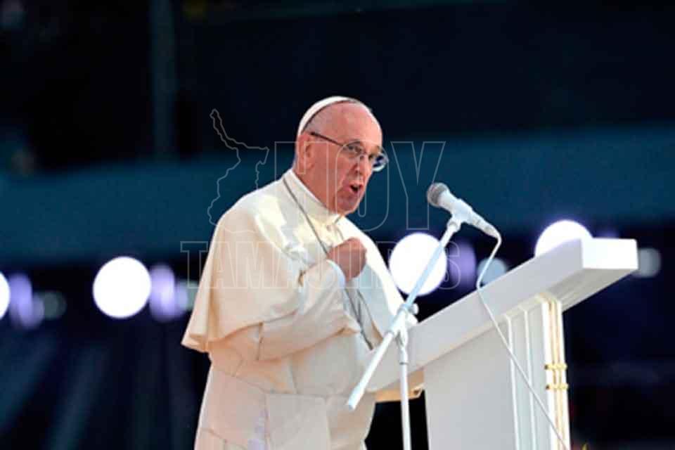 Finaliza Papa Francisco segundo día de actividades en Chile