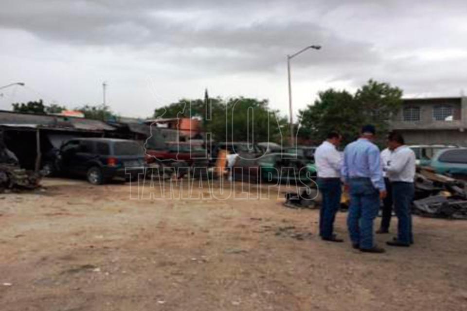 Policía Estatal asegura arsenal y vehículos en Reynosa y Díaz Ordaz