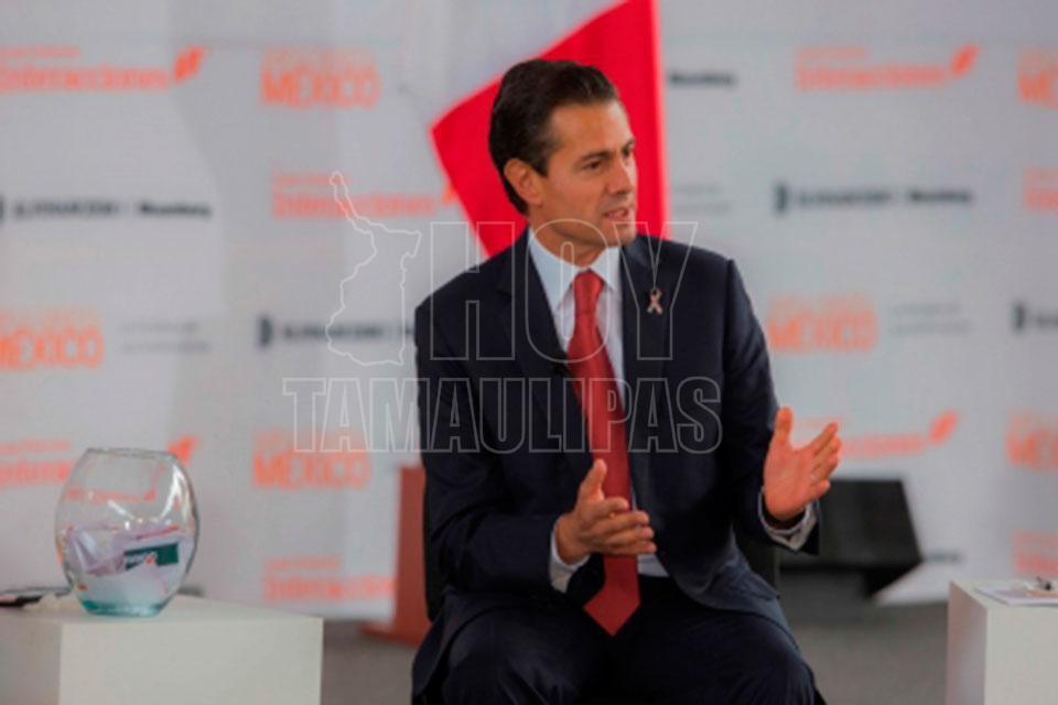 Frustraciones y retórica de Trump a otro lado, no a mexicanos: Peña