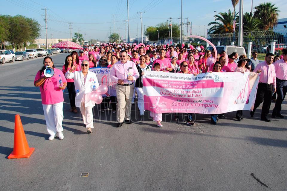 Cáncer de mama primer causa de muerte de cáncer en Chihuahua: IMSS