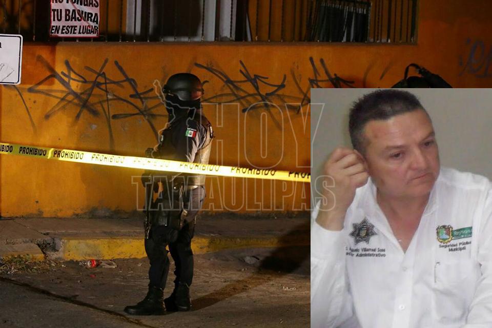 Asesinan al jefe del Cedes de Reynosa, Tamaulipas