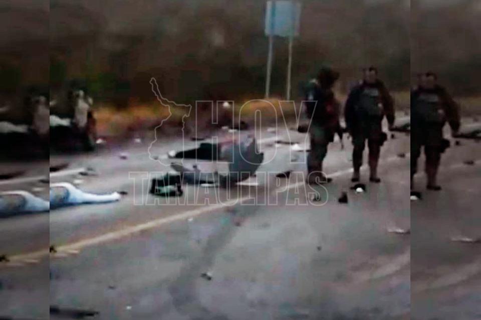 González: Fatal choque en la Zaragoza