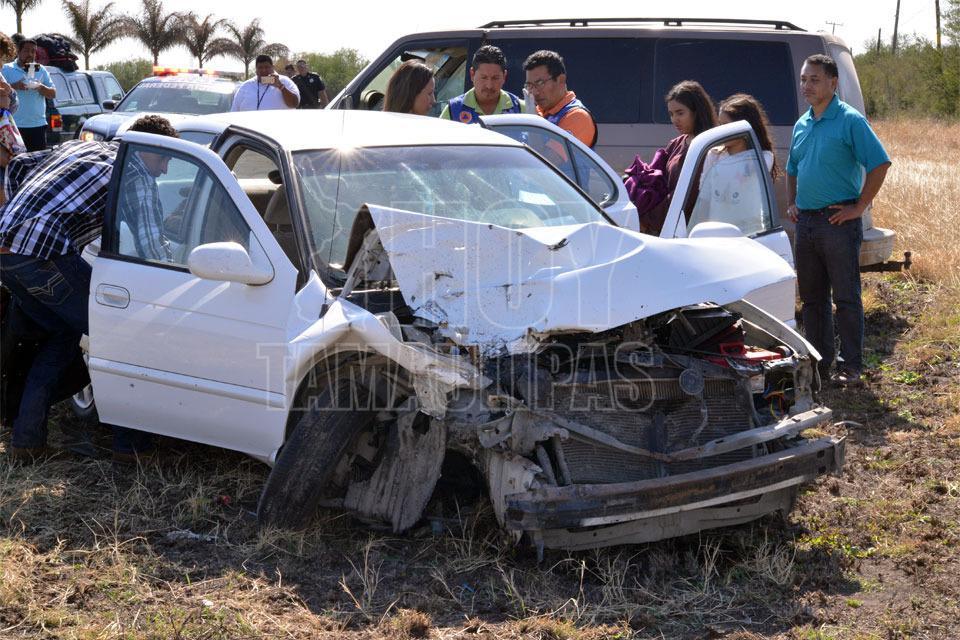Carreterazo deja dos muertos en la Victoria-Matamoros