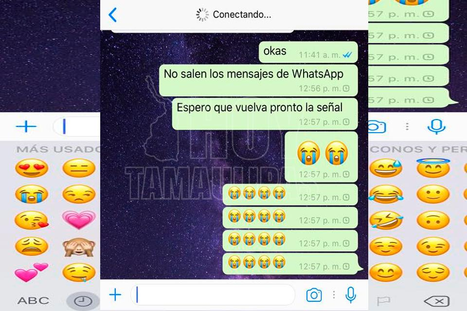 WhatsApp se despide de 2017 con una caída en todo el mundo