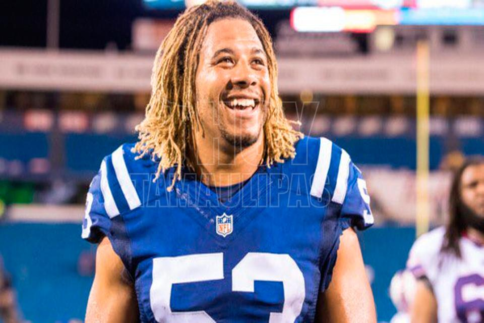 Linebacker de Colts pierde la vida en trágico accidente