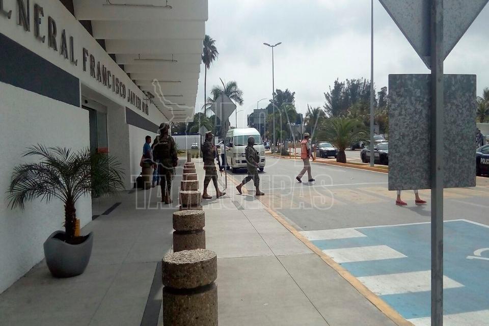 3ra amenaza de bomba, ahora en el Aeropuerto Internacional de Tampico