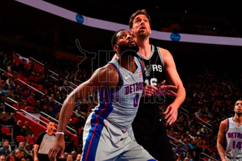 115-106. Griffin reivindica liderazgo de Pistons con quinta victoria seguida