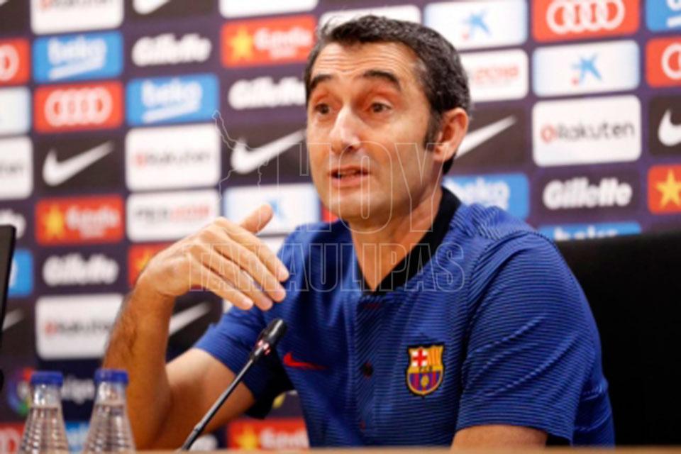 Ernesto Valverde sopesa dar descanso a Messi ante el Leganés