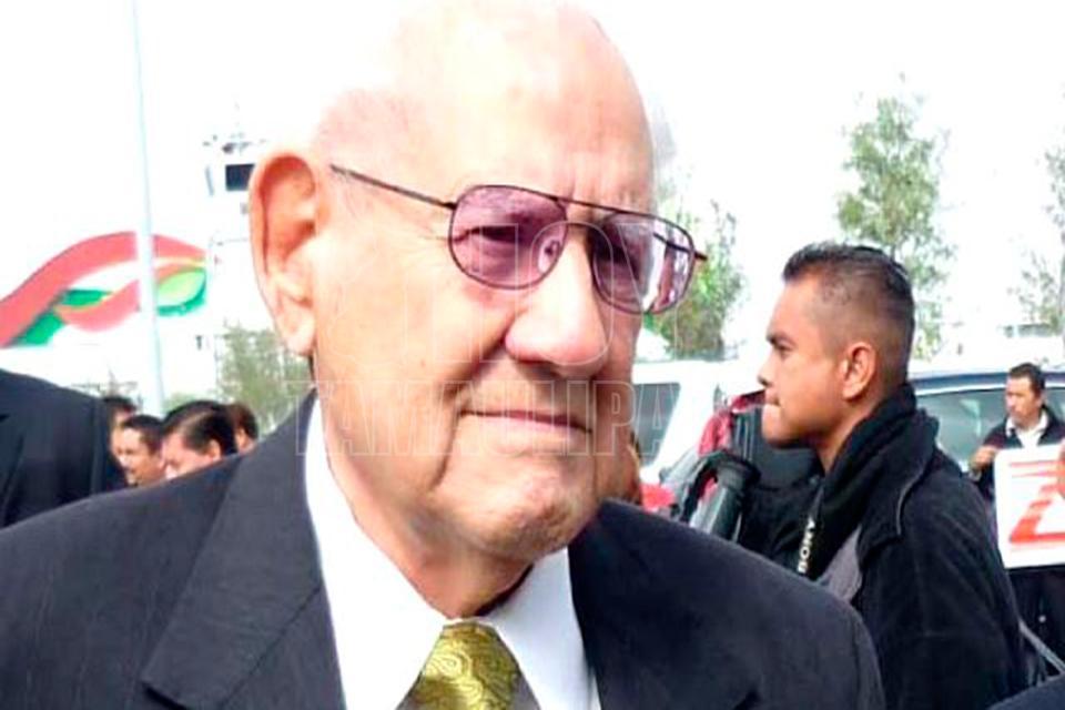 Fallece el ex gobernador de Tamaulipas Enrique Cárdenas