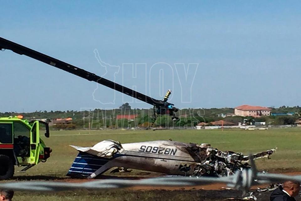 Cae avioneta en Laredo, Texas; hay 2 muertos