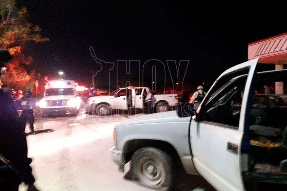 Atacan a policías en Reynosa; muere un comandante