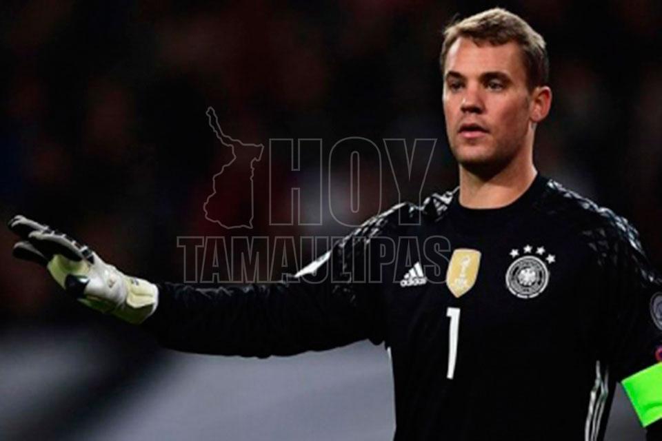 Neuer se acerca al Mundial de Rusia: volvió a entrenar