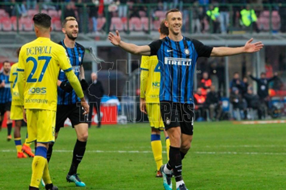 Mauro Icardi marcó para el triunfo del Inter y superó su récord