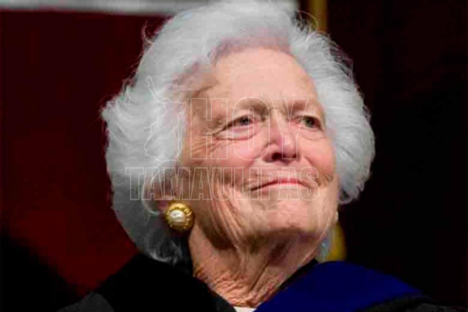 Murió la exprimera dama Barbara Bush