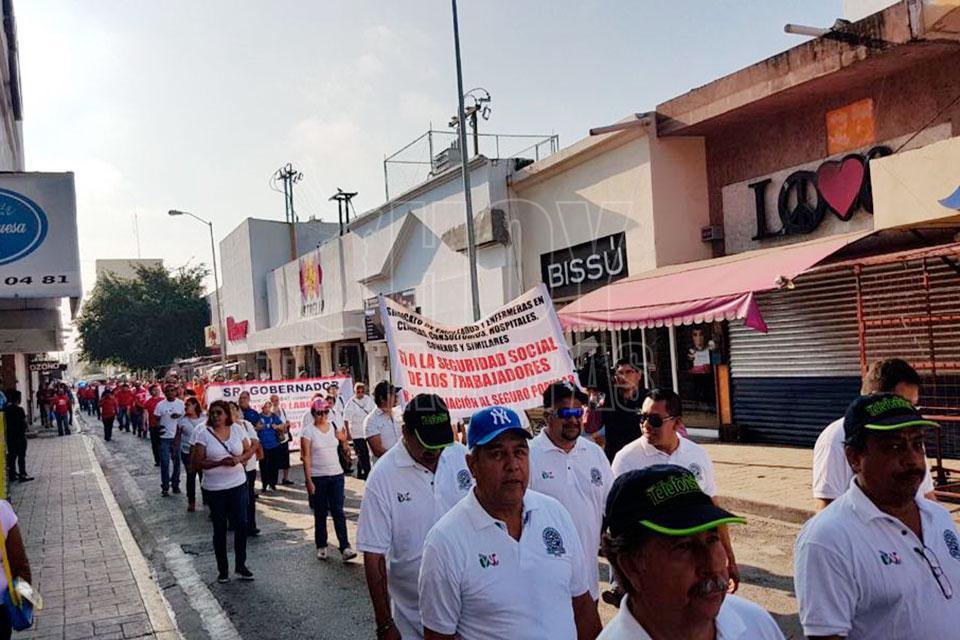 Lanzan agenda social laboristas en el Día del Trabajo