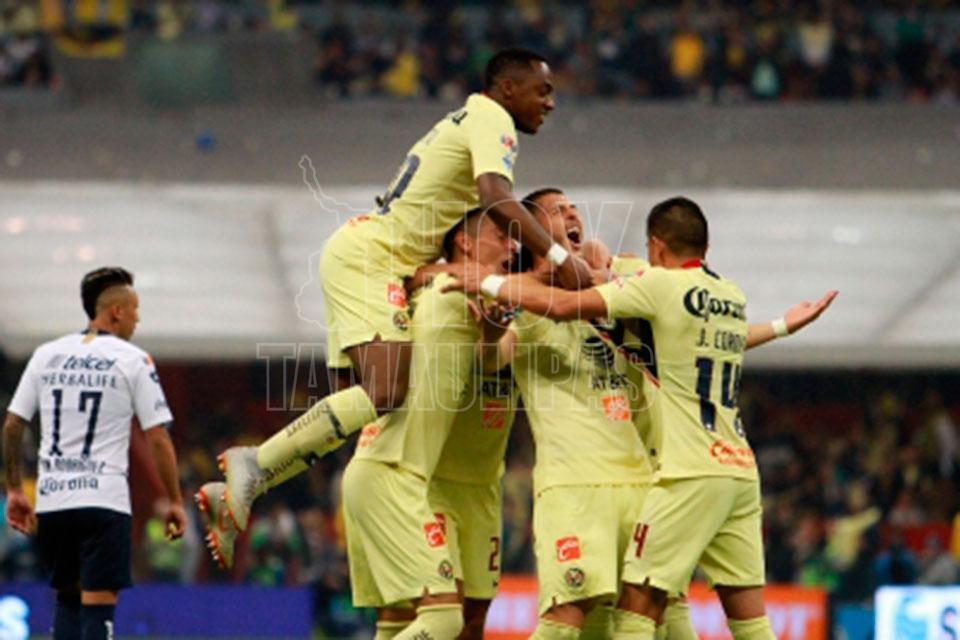 América humilla a Pumas y avanza a la gran Final