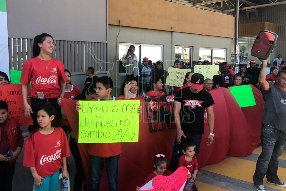 Filial de Arca Continental suspende operaciones en Matamoros